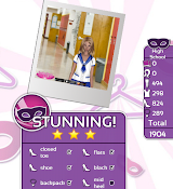 Fashion Party Dress Up Level 2 - High School - Danielle - Love It! Three Stars