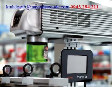 Máy in date laser Nano YAG
