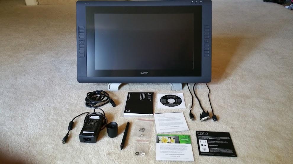 Review Wacom Cintiq 22hd Pen Display Tablet Parka Blogs