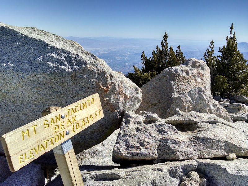 Mount San Jacinto • Summit
