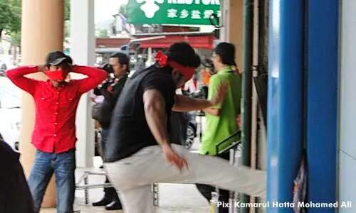Pejabat DAP Kuantan Pula Jadi Sasaran