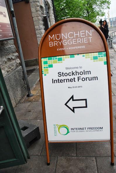 Stockholm Internet Forum 2013