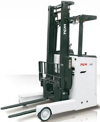 Xe nâng điện đứng lái TCM 1.8 tấn Nhật Bản
