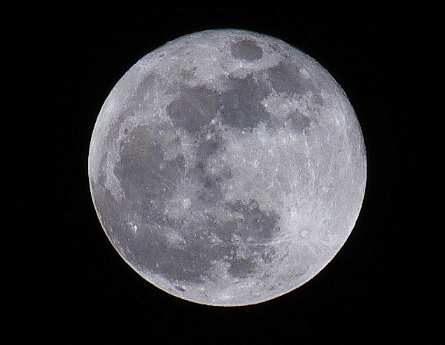 純粹留念 超級月亮
