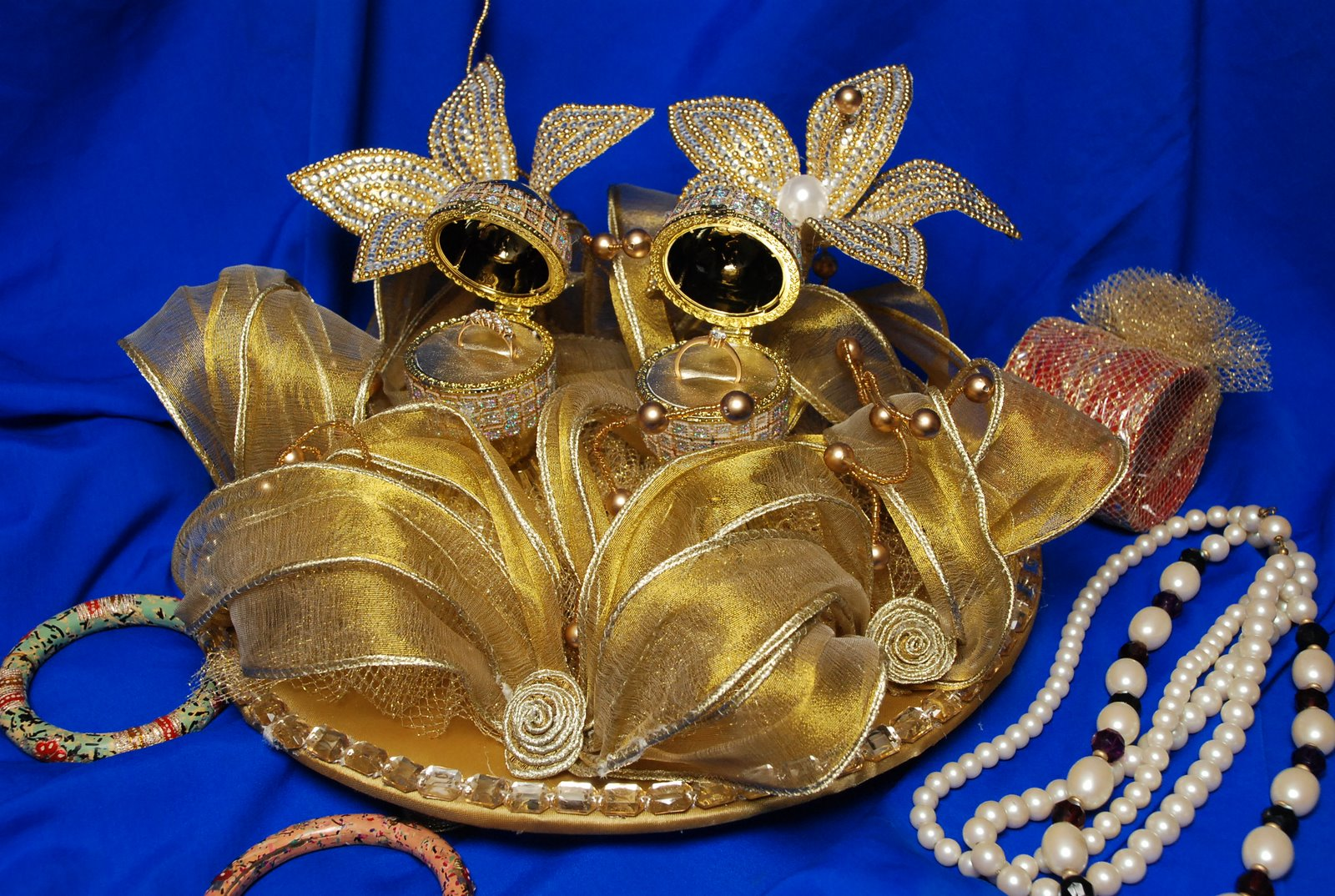Wedding Ring Holders Ceremony 4 Good We at ranjanaarts are