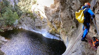 Gourg des Anelles i Cascades de Baussous