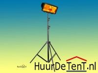 Infrarood lamp op statief huren bij HuurDeTent.nl