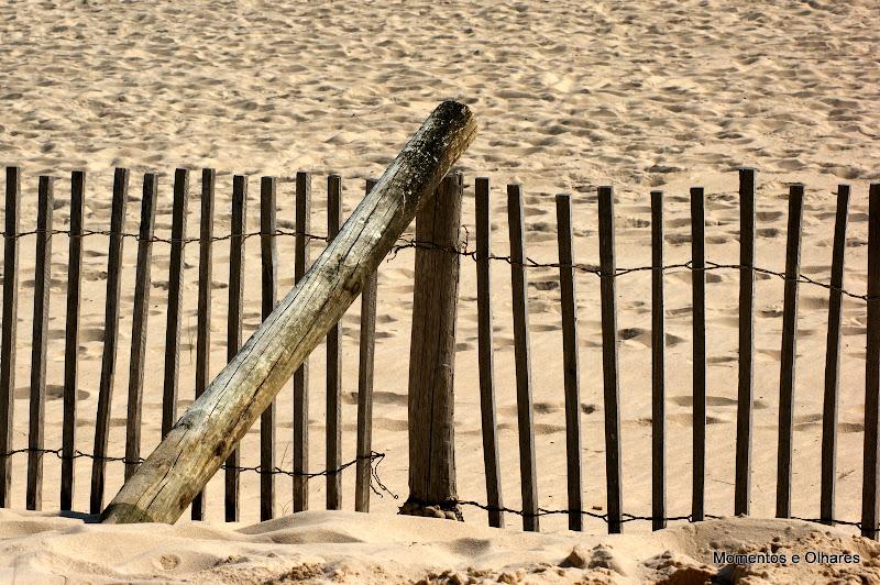 Praia Verde, Algarve, Nas dunas
