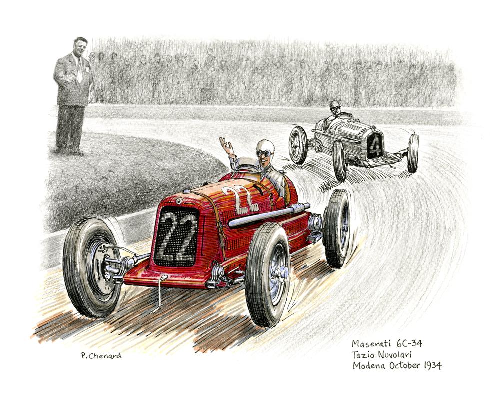 Circuito Modena : Automobiliart.com: circuito di modena grand prix 1934