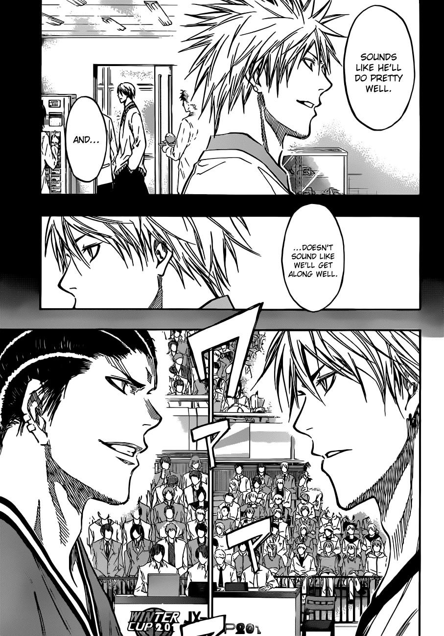Kuroko no Basket Manga Chapter 171 - Image 03