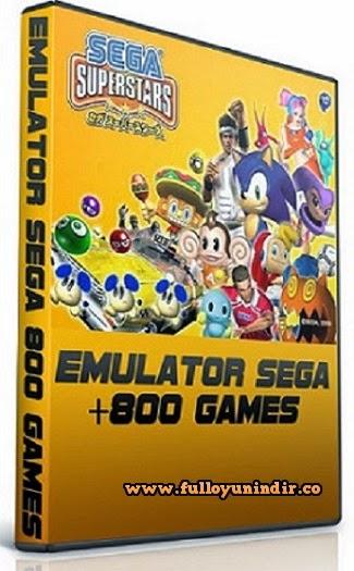 SEGA Emulator + 843 Adet Oyun