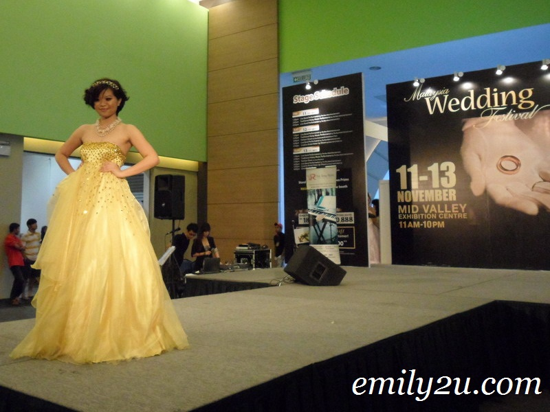 creative bridal make up show