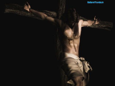 jesus on cross wallpaper. jesus christ on cross