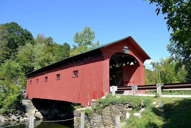 Крытый мост в Арленгтоне, Вермонт (West Arlington Brigde, Arlington, VT)