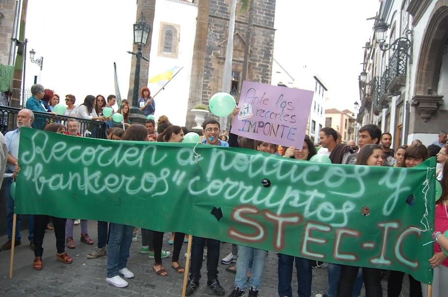 Manifestación La Palma