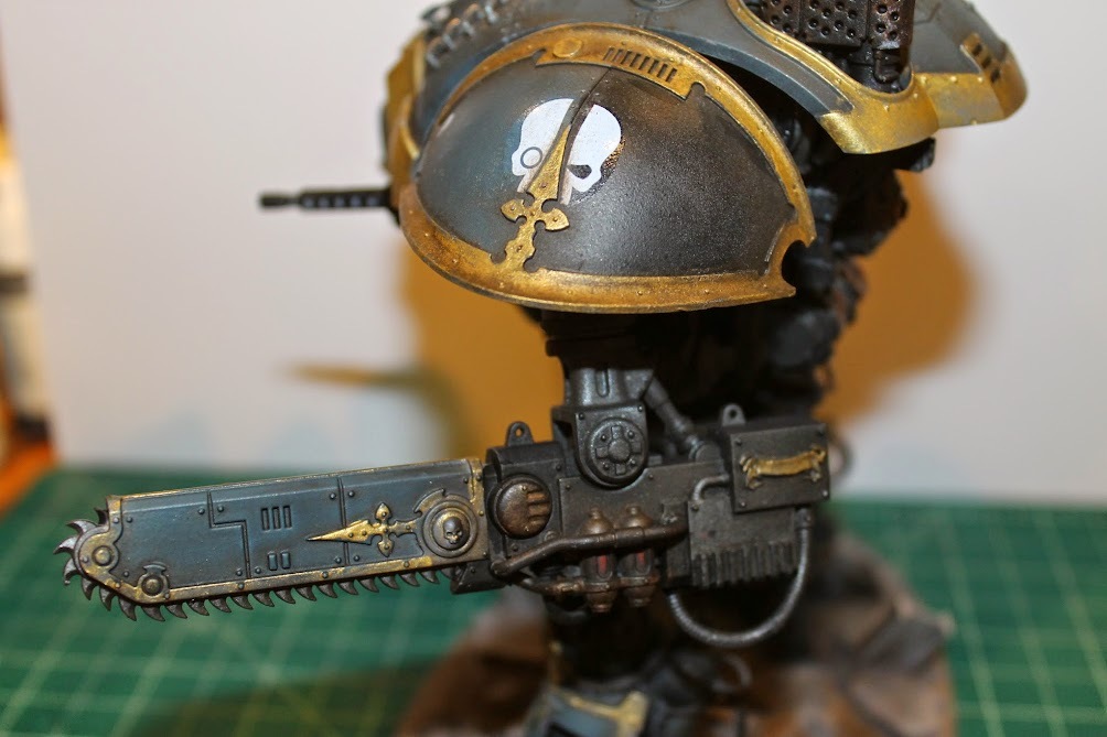 Imperial Knight, left shoulder and arm
