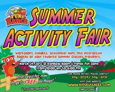 events, summer, weekends