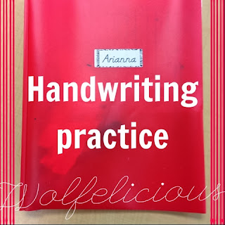 Photo of Wolfelicious Handwriitng Practice