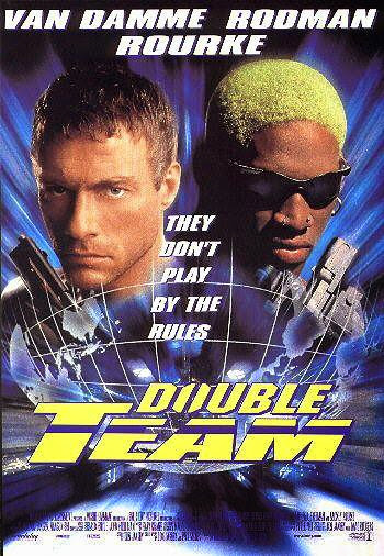 Poster Of Double Team (1997) Full Movie Hindi Dubbed Free Download Watch Online At Alldownloads4u.Com