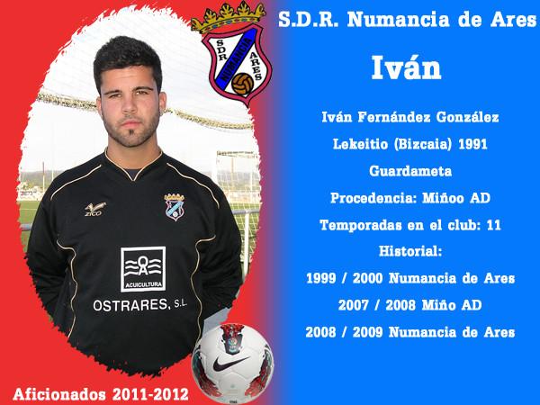 A.D.R. Numanciad de Ares. Iván.