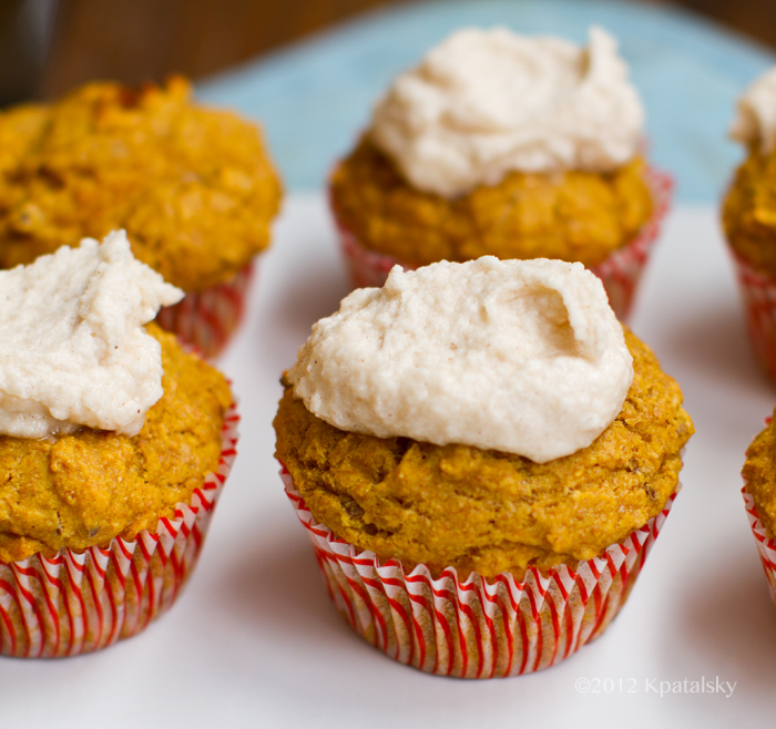 Cinnamon Pumpkin Muffins.