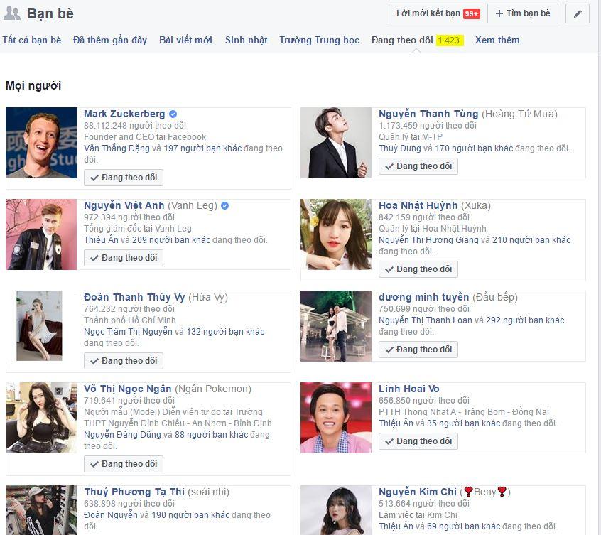 Share Code Bỏ Theo Dõi Facebook Hàng Loạt 2017