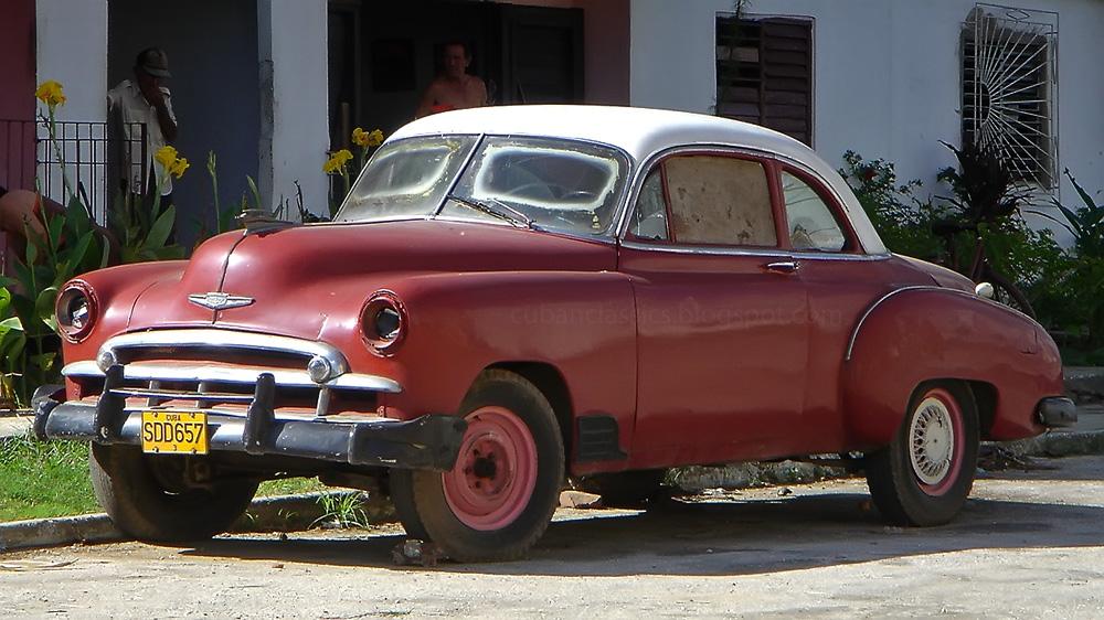 1949 Chevrolet Styleline Deluxe Sport Coupe Cubanclassics