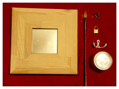 Diy Mirror Key Holder Things We Do Blog