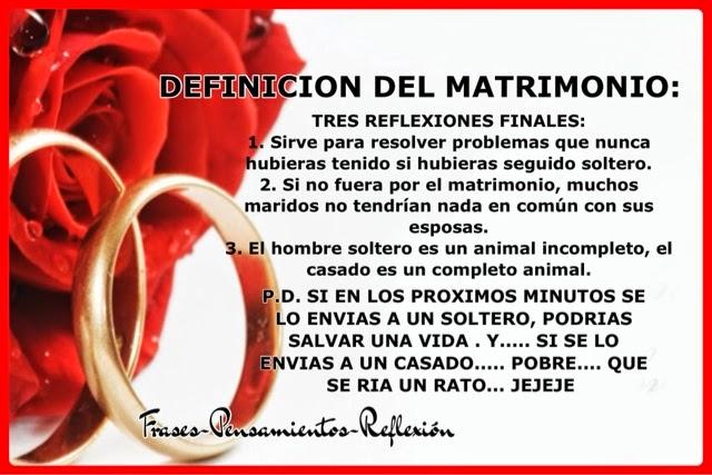 En El Matrimonio Catolico Hay Divorcio : Frases pensamientos reflexión definicion del matrimonio