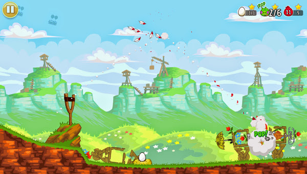 Angry Birds ra mắt phiên bản Red's Mighty Feathers 9