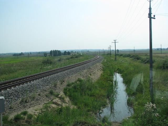 Dvourozchodna trat na hranicich polska a litvy