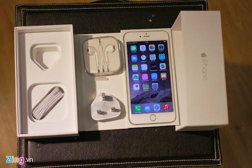 Đập hộp iPhone 6 Plus đầu tiên tại Việt Nam