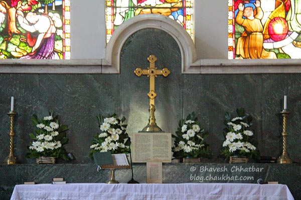 Altar of St. Mary's Church, Pune