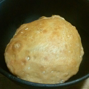 bread bake in Dutch oven