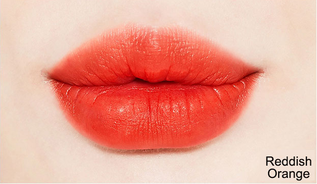 Son Missha Wish Stone Tint Velvet Reddish Orange