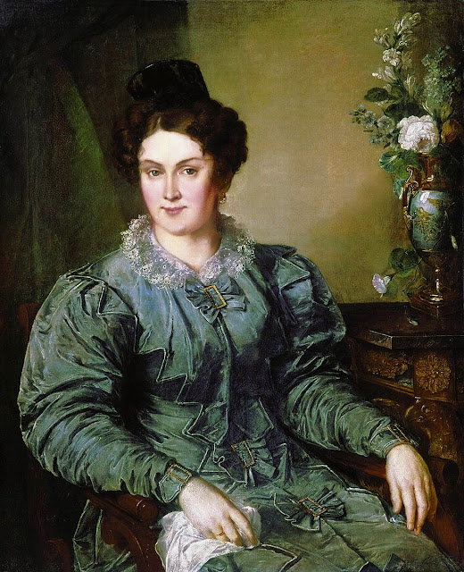 Vasily Tropinin - E.V. Meshkova, née. Bilibina