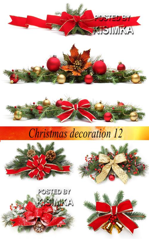 Stock Photo: Christmas decoration 12