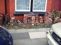 chaplegateconstruction.com Boundary wall demolished