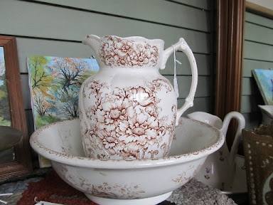 washstand jug & bowl