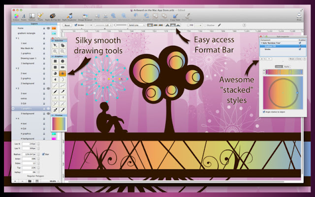 Artboard – Advanced Vector Drawing Software for Mac