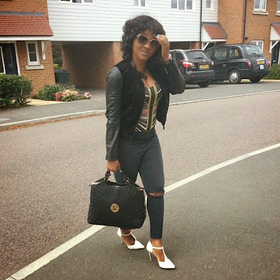 #Nollywood: Actress Mercy Aigbe shares Vacation Photos