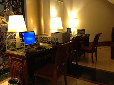 Business Center of Kempinski Hotel Ajman