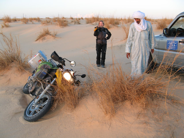 Crash in Dunes