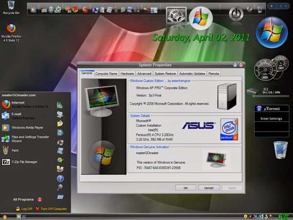 Windows xp sp3 black edition 2015 free download webforpc.