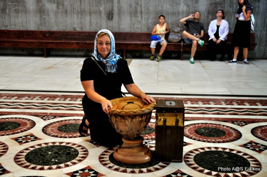 Пуп земли, Храм Гроба Господня. Экскурсия по Иерусалиму. Гид в Израиле Светлана Фиалкова.