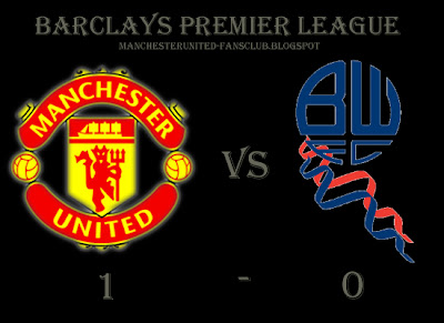 Barclays premier league, Manchester United v Bolton Wonderers