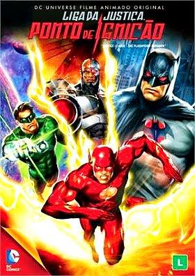 Filme Poster Liga da Justiça: Ponto de Ignição  DVDRip XviD Dual Audio & RMVB Dublado