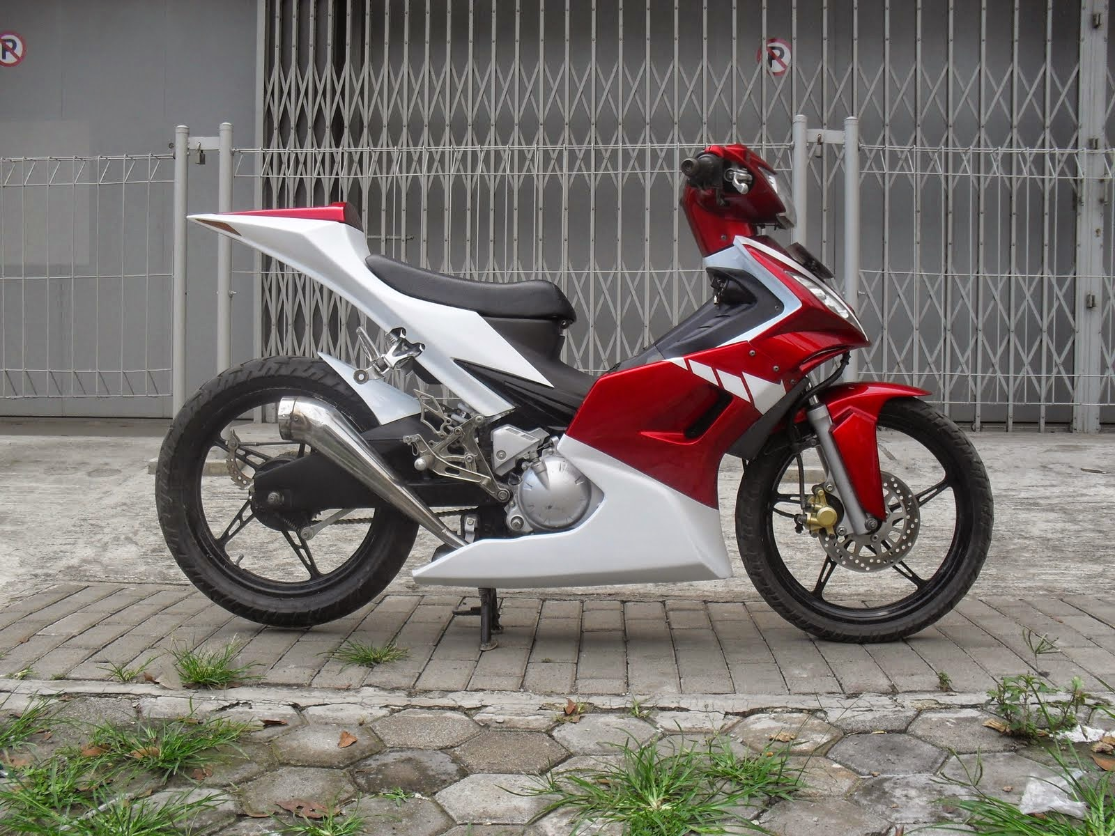Foto Modifikasi Motor Jupiter Mx Drag