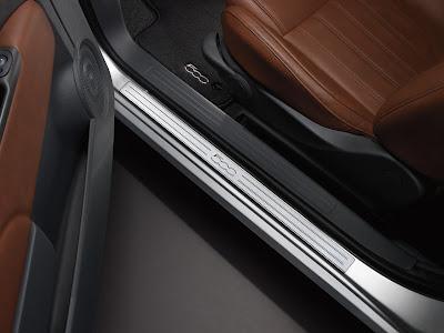 Fiat 500 Door Sill Moulding