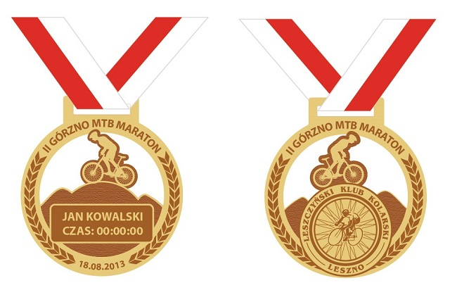 Medal II Górzno MTB Maraton